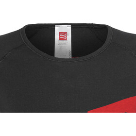 Compressport Casual Postural T-Shirt Staff - T-shirt course à pied Femme - noir